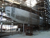 New yacht building